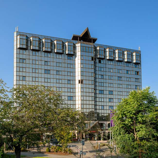 Mercure Hotel Koblenz Aussenansicht